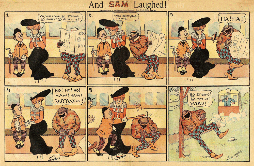 "Swinnerton, ""And Sam Laughed,"" 1905: who gets the last laugh?"