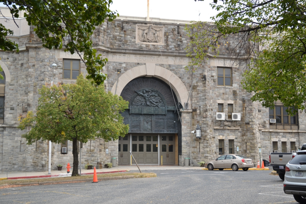 Fifth Regiment Armory Building, Baltimore.