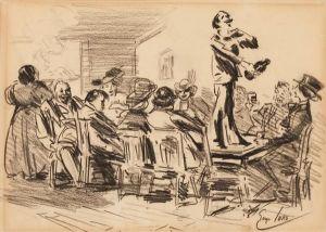 Luks, The Orator, c. 1920.