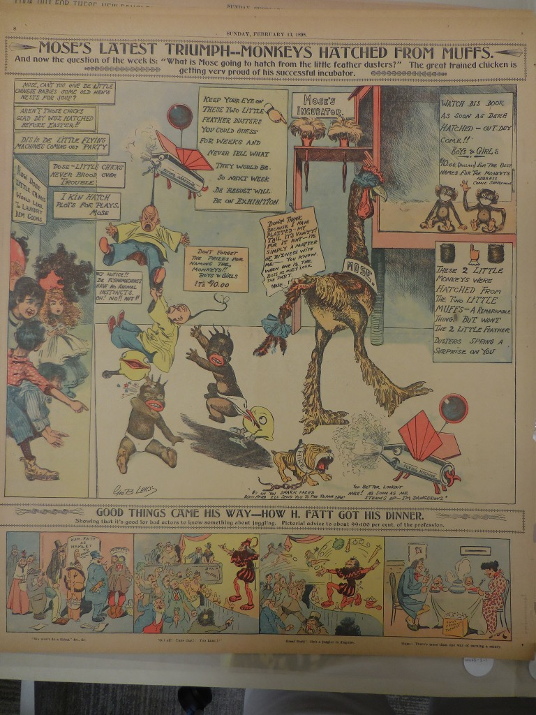 George Luks, Mose's Incubator, Feb. 13, 1898.
