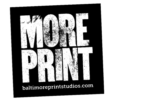 Baltimore Print Studios sticker--Yes!